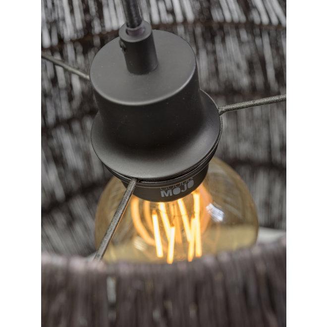 Hanglamp Iguazu - taps zwart LARGE