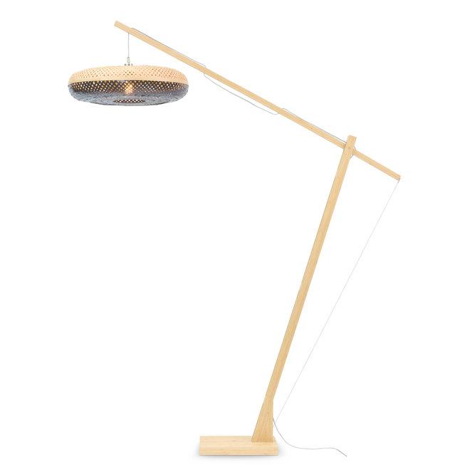 Vloerlamp Palawan - naturel/ naturel-zwart LARGE