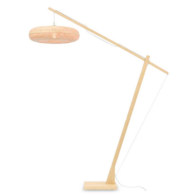 Vloerlamp Palawan - naturel/ naturel LARGE