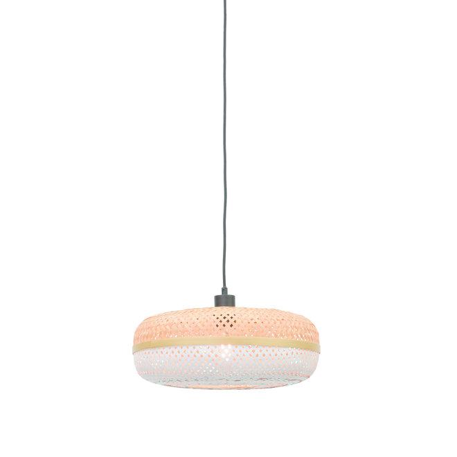 Hanglamp Palawan - naturel-wit SMALL