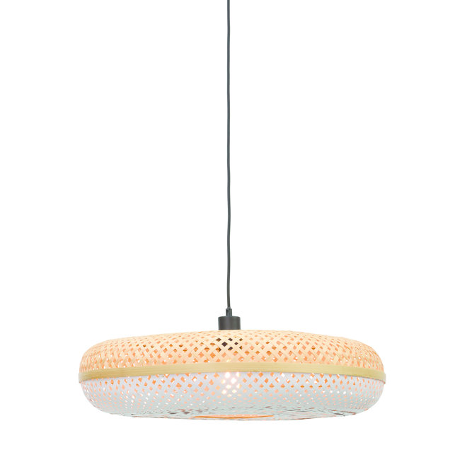 Hanglamp Palawan - naturel-wit LARGE
