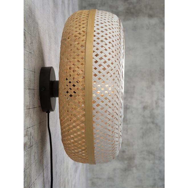Wandlamp Palawan - naturel-wit SMALL