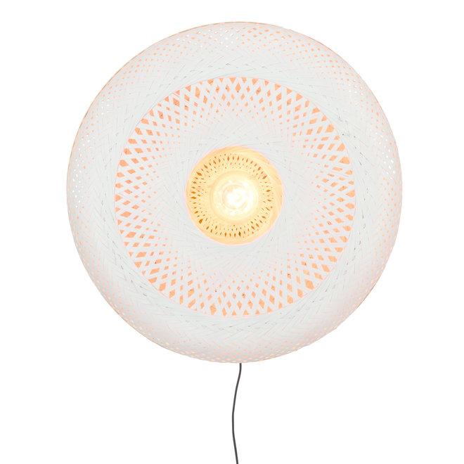Wandlamp Palawan - naturel-wit LARGE