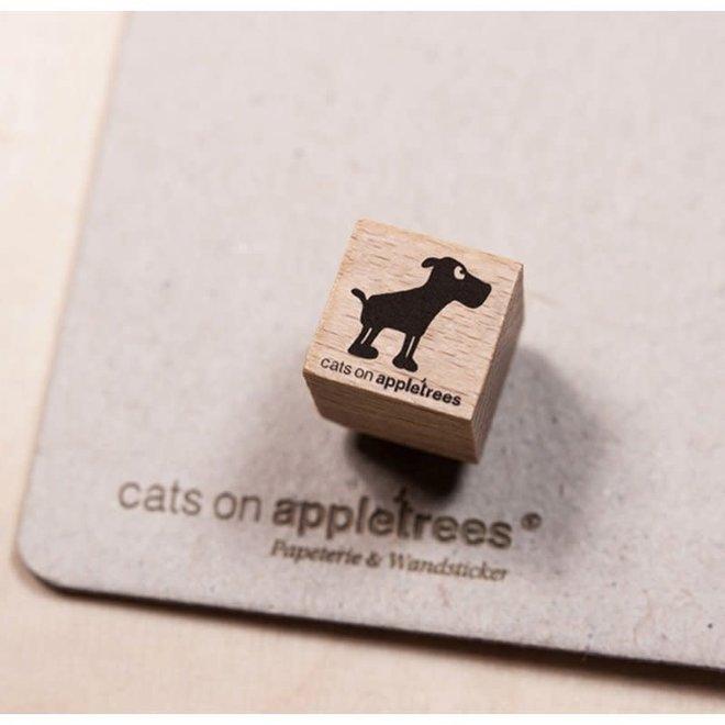 Ministempel Hond Leopold 2860
