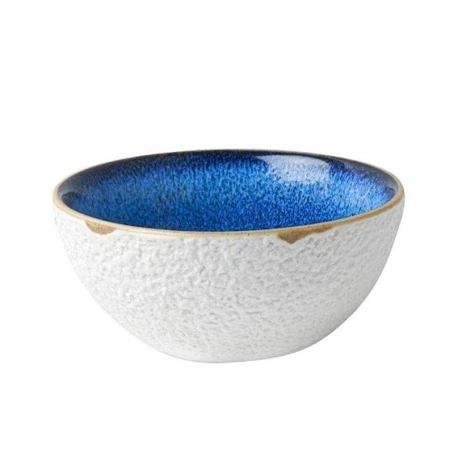 Blauw Bloesem Yoghurtschaaltje blauw