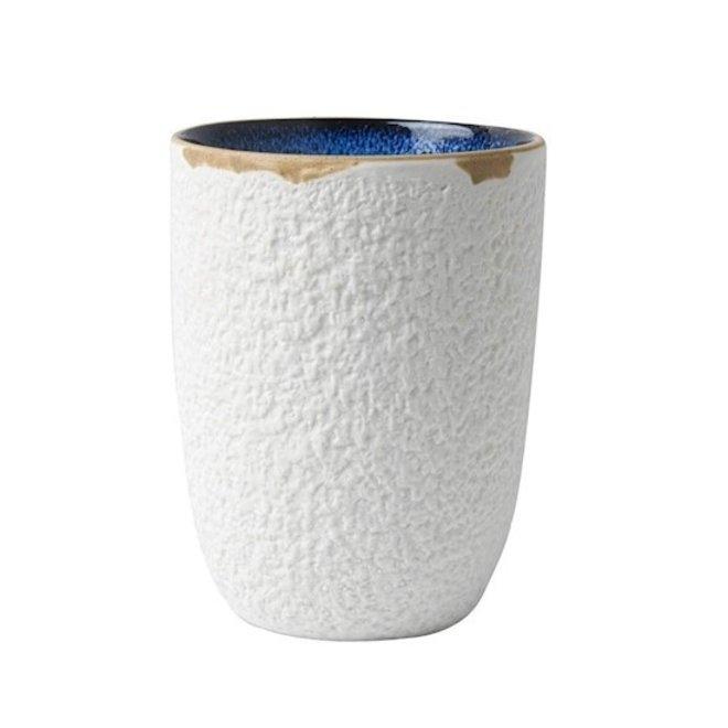 Blauw Bloesem Koffiekop Blauw