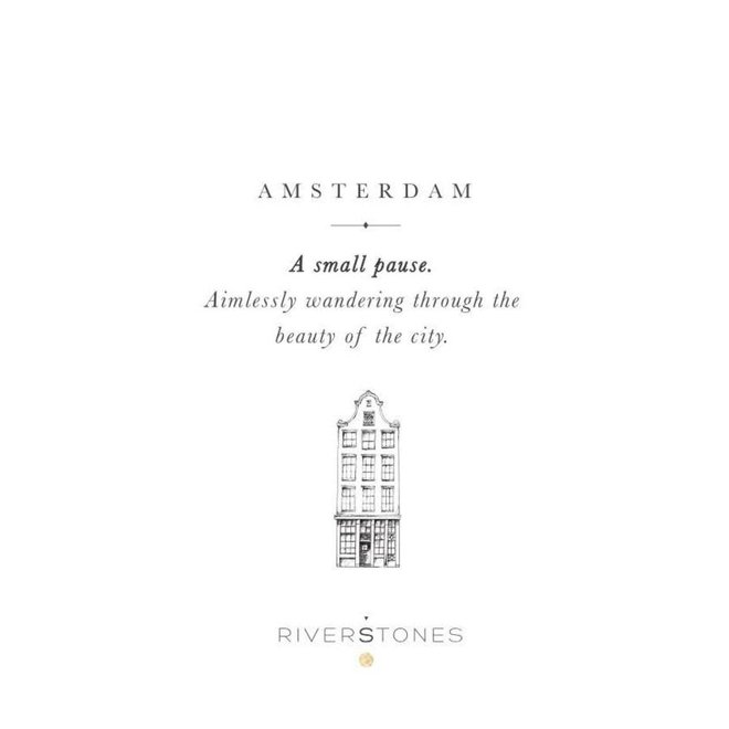 Ketting - Canal houses - Zilver