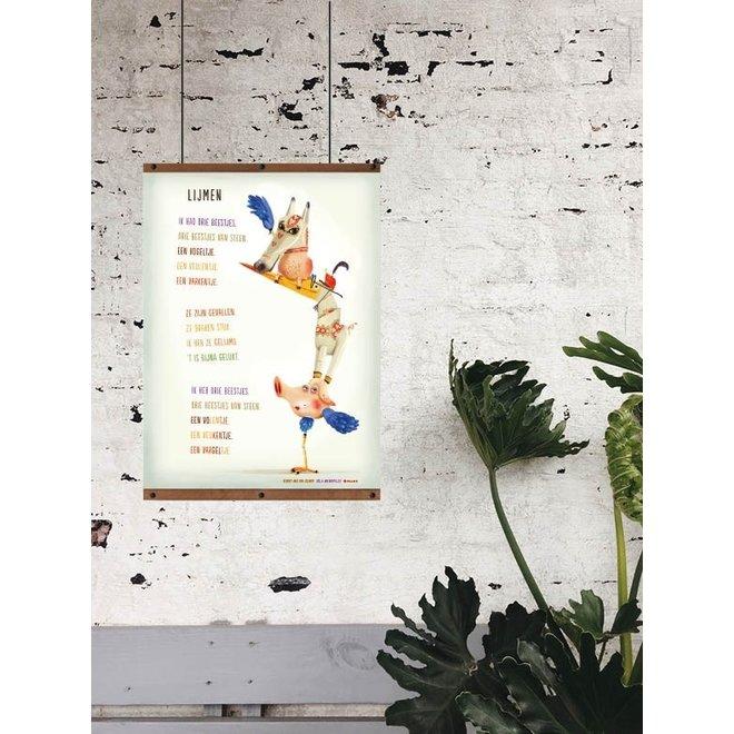 Frame voor posters op te hangen