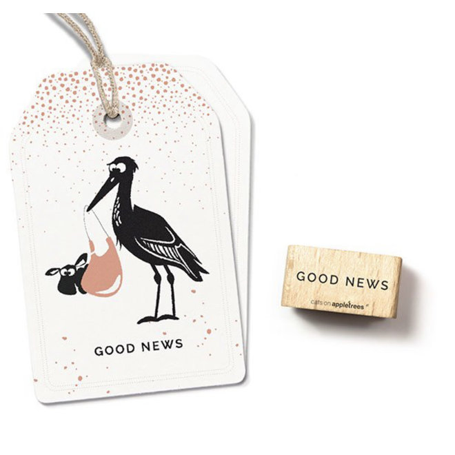 Stempel tekst: Good News 27485
