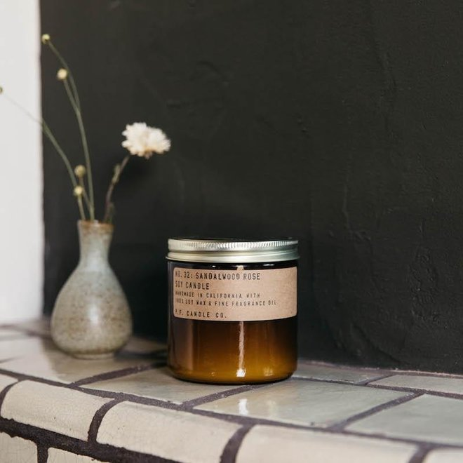 PF Candle - NO. 32 Sandalwood Rose small
