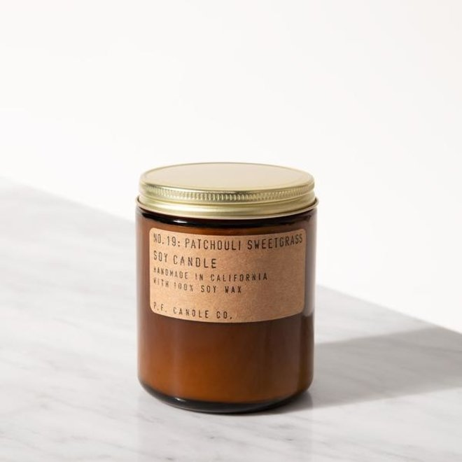PF Candle - NO. 19 Patchoulli Sweetgrass