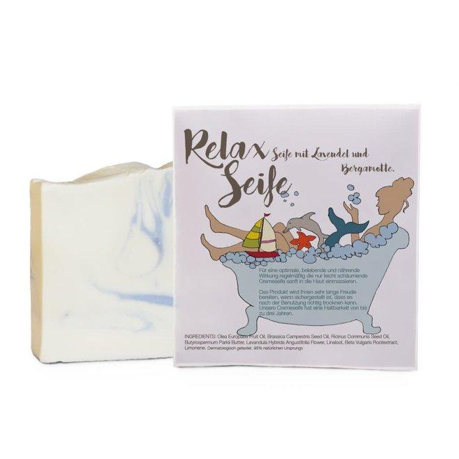 Cadeauzakje met  - Relax Zeepje zeepje