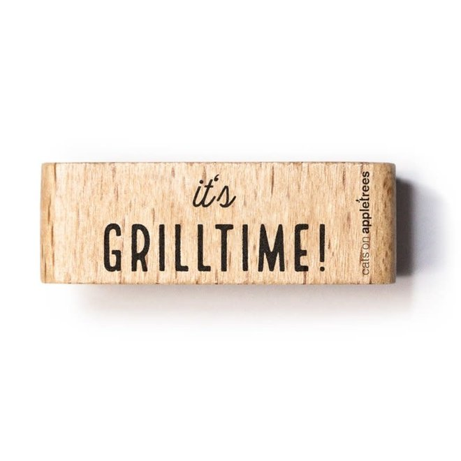 Stempel tekst Grilltime 27512