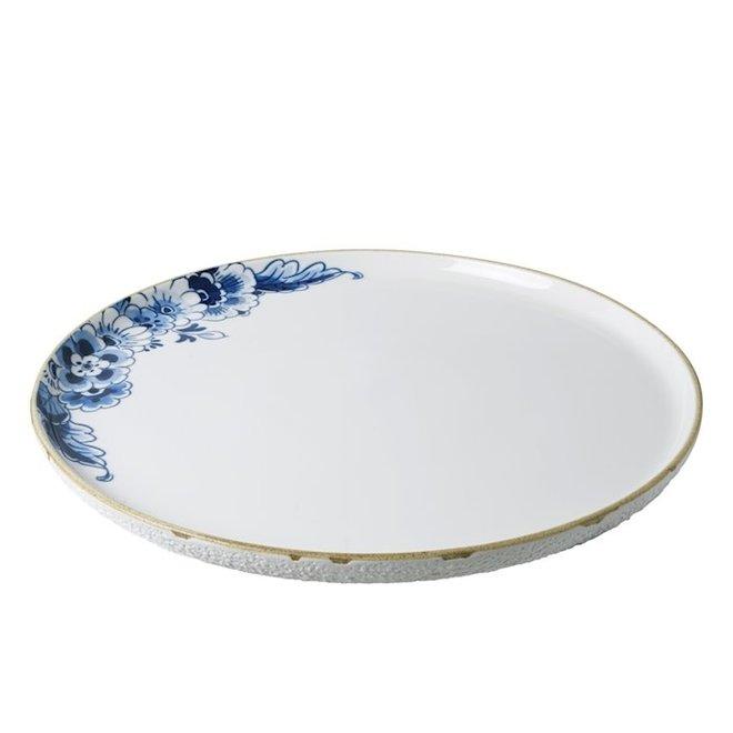Blauw Bloesem Serveerschaal