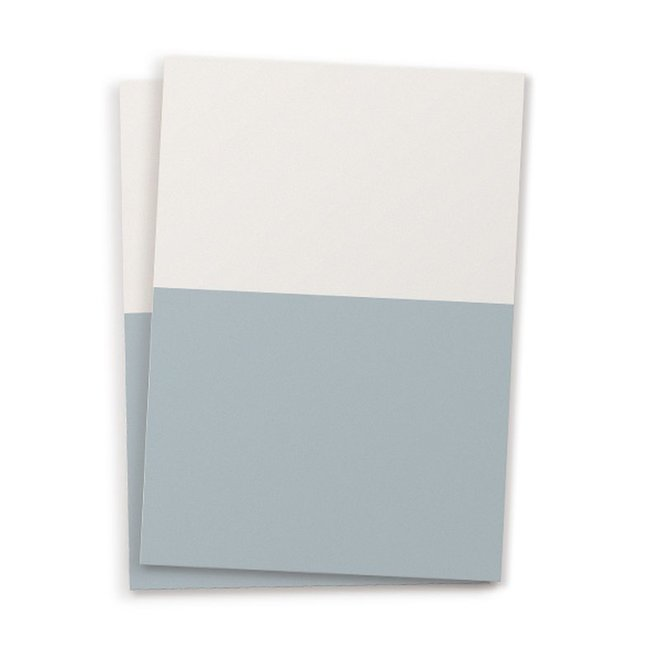 Blanco kaart set van 10 - cloudy sky