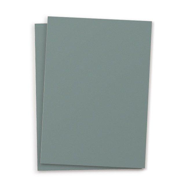 Blanco kaart set van 10 - donkerblauw