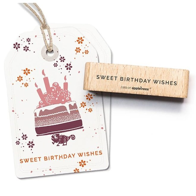 Stempel Sweet Birthday Wishes 27587