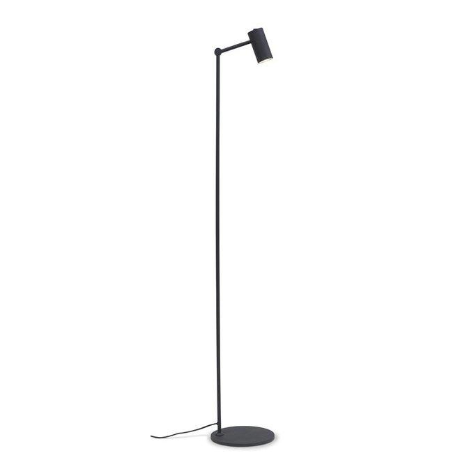 Vloerlamp Montreux - Zwart ijzer
