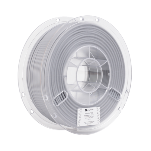 Polymaker Polymaker PolyLite ABS filament - Grey
