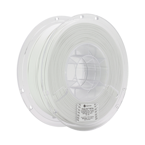 Polymaker PolyLite PETG filament - White