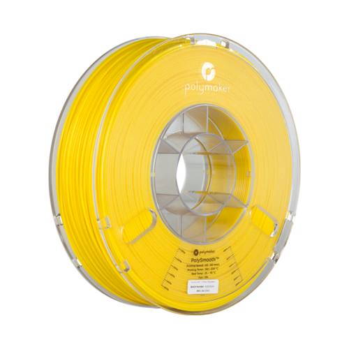 Polymaker PolySmooth filament - Yellow