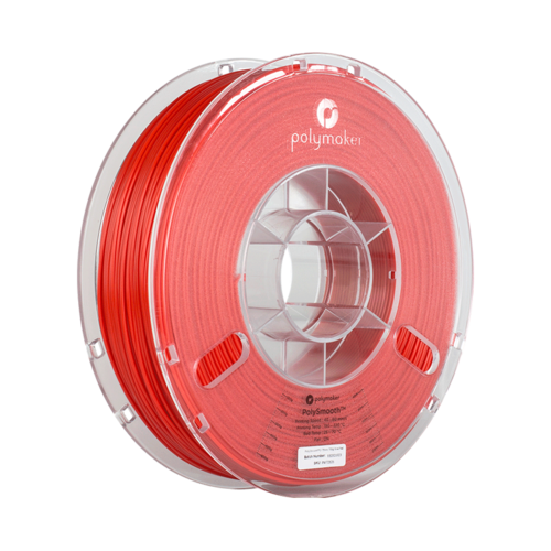 Polymaker PolySmooth filament - Red