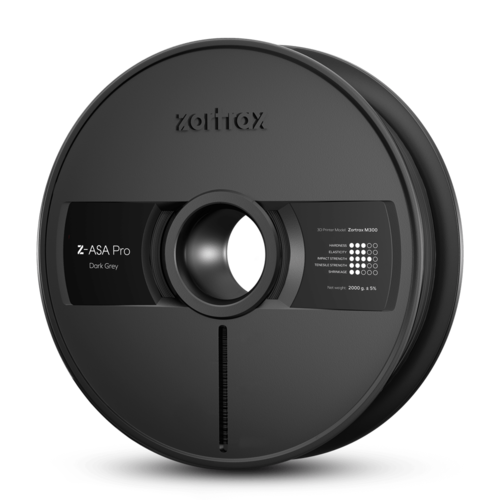Zortrax Zortrax Z-ASA Pro filament - Dark Grey
