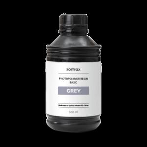 Zortrax Zortrax Basic resin - Grey - 500 ml