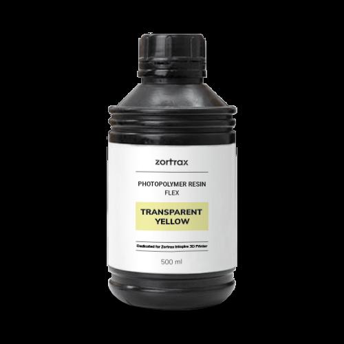 Zortrax Zortrax Flexible resin - Yellow Transparent - 500 ml