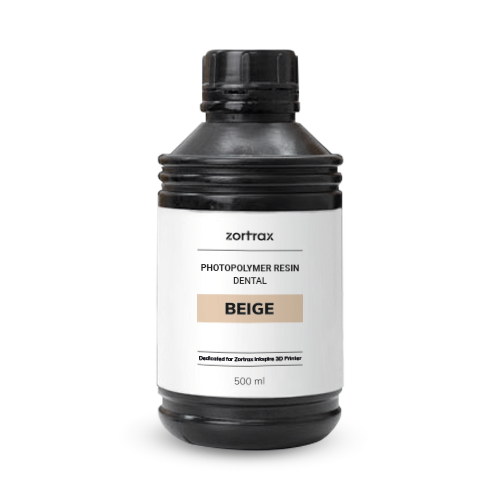 Zortrax Zortrax Dental Model resin - Beige - 500 ml