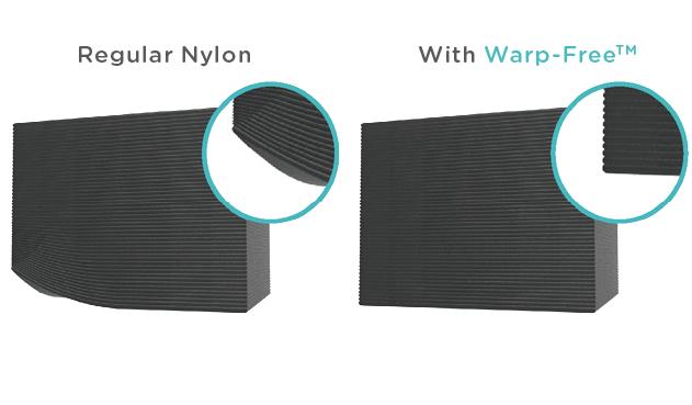 Polymaker Warp Free technology
