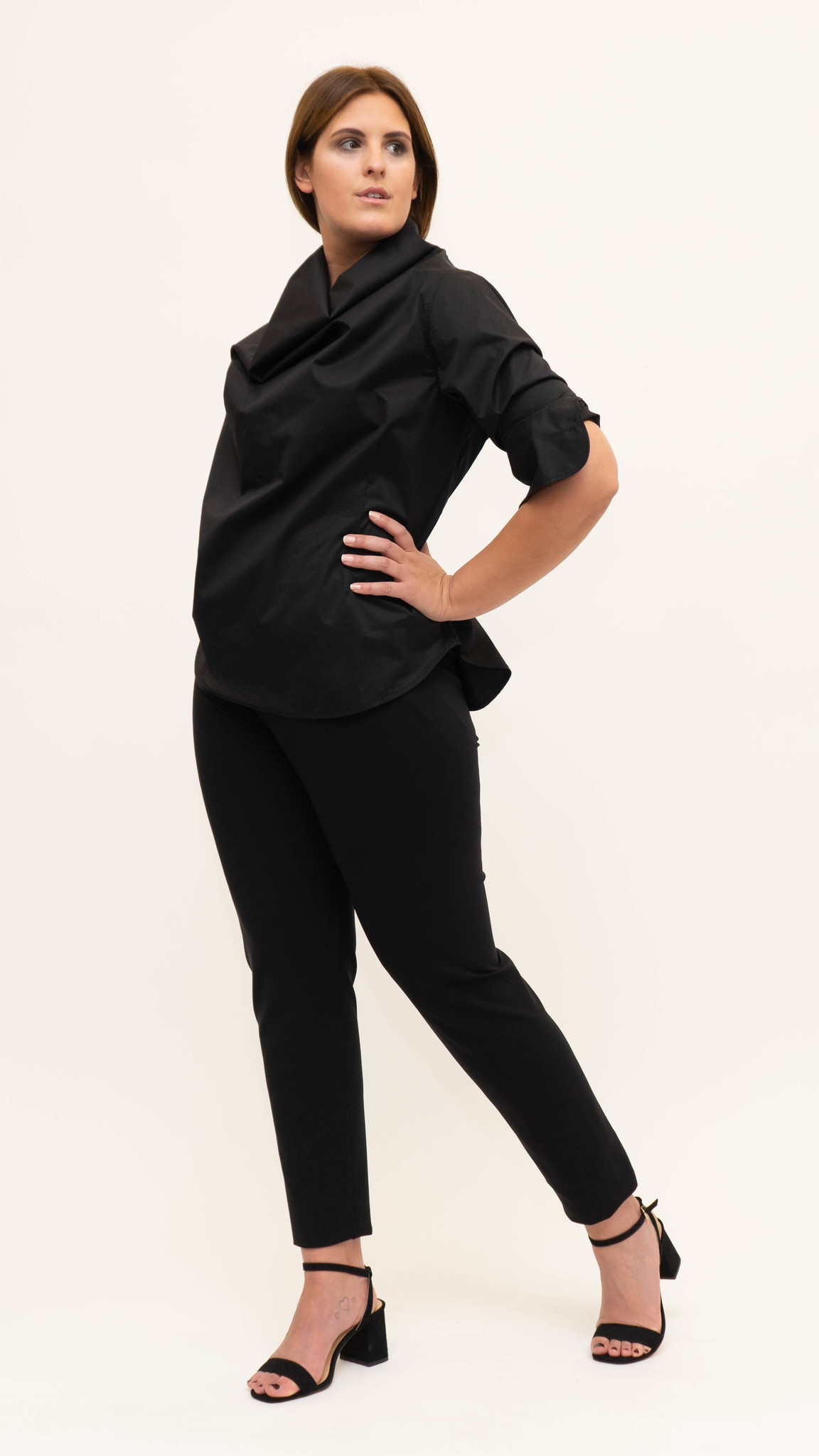Shiraz Blouse in lightly crushed Cotton-2