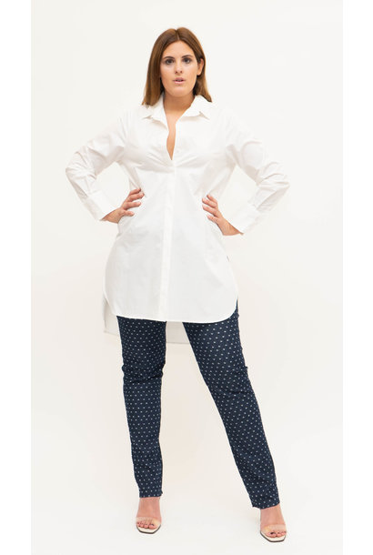GAYA Blouse in lightly crushed Cotton