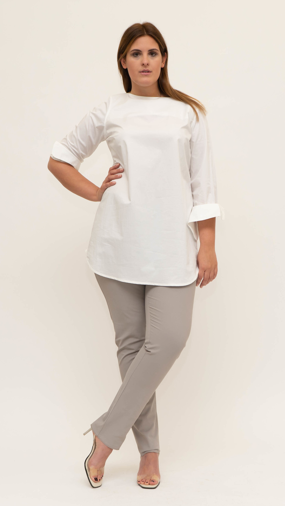 ZOJA Blouse in lightly crushed Cotton-1