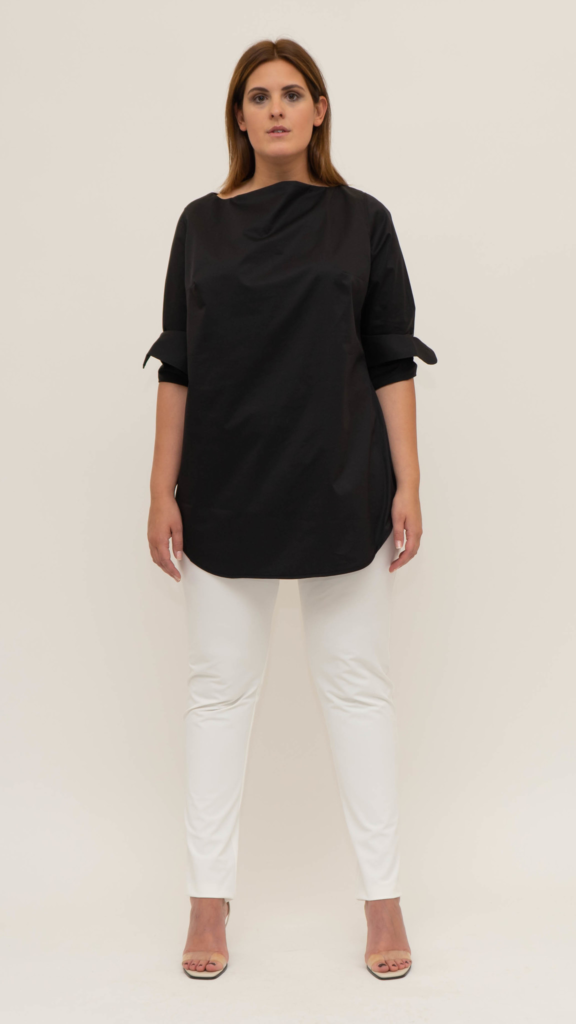 ZOJA Blouse in lightly crushed Cotton-4