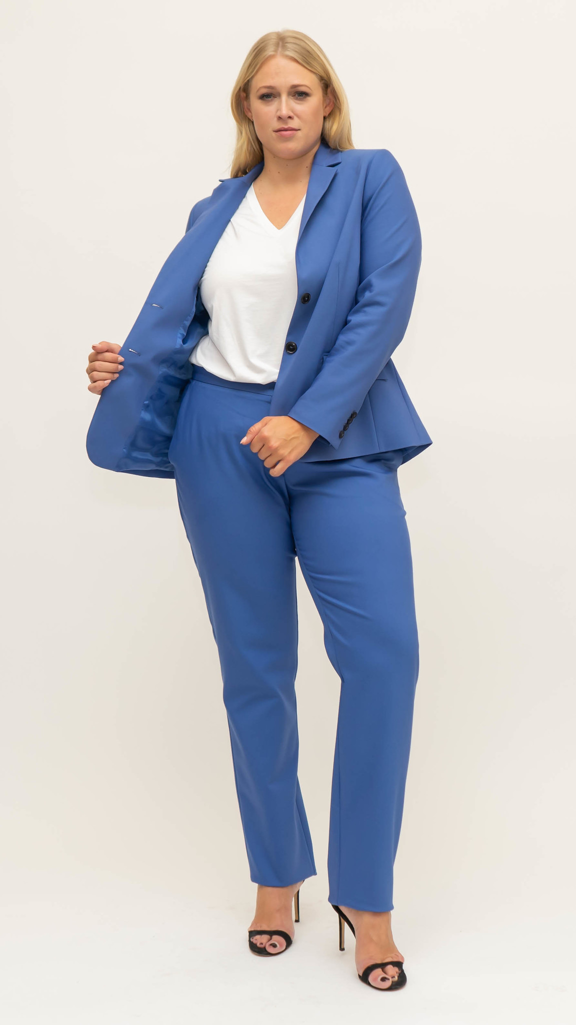 SEVEN Trousers in Cotton stretch-1