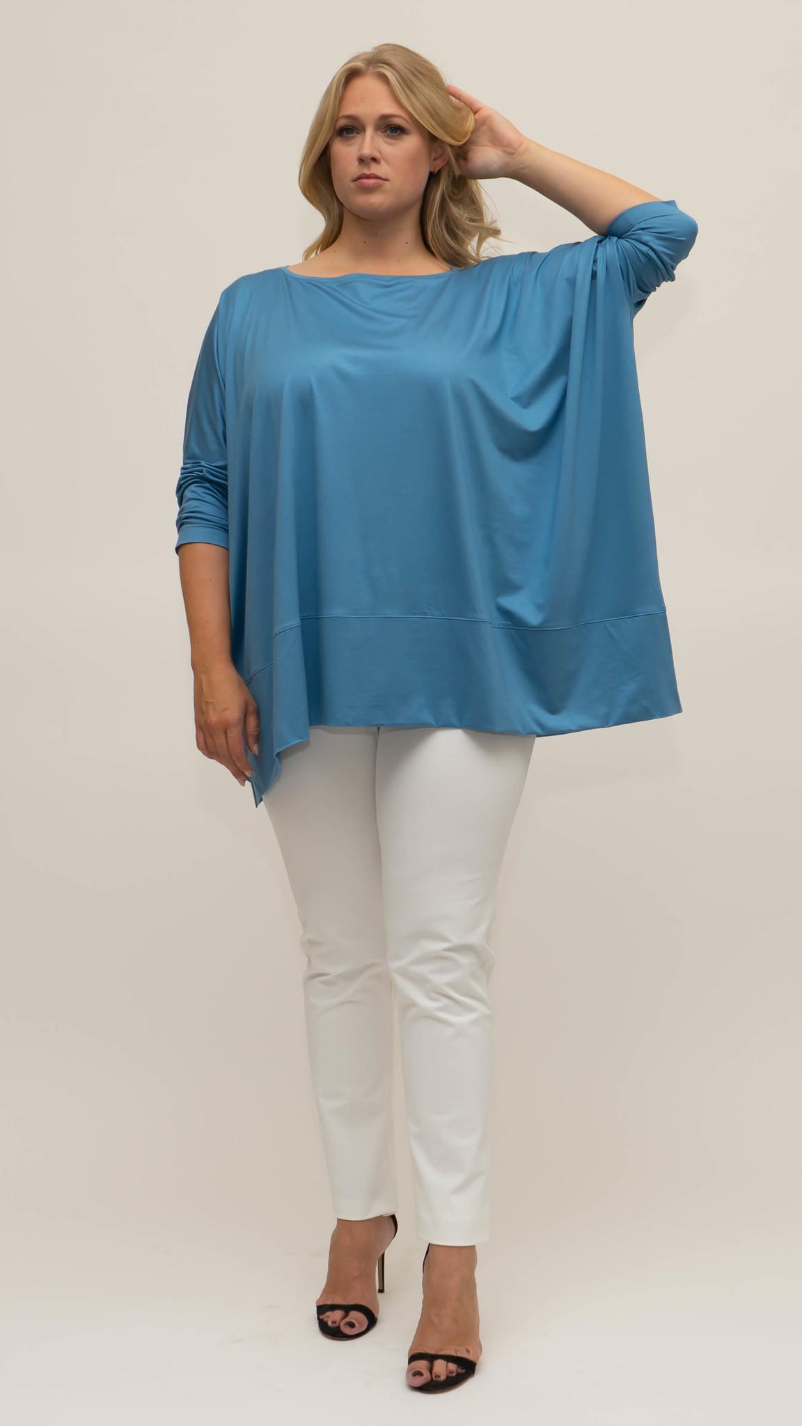 MAYA Shirt in Viscose-Jersey-10