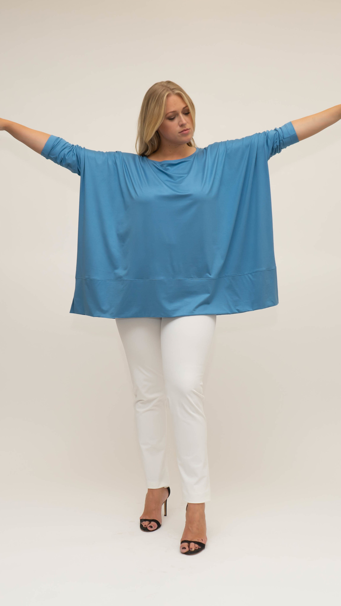 MAYA Shirt in Viscose-Jersey-11