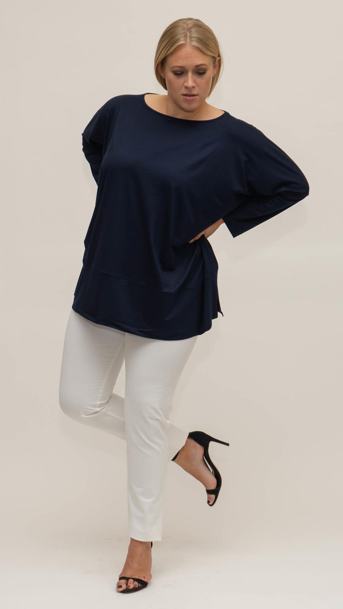 MAYA Shirt in Viscose-Jersey-6