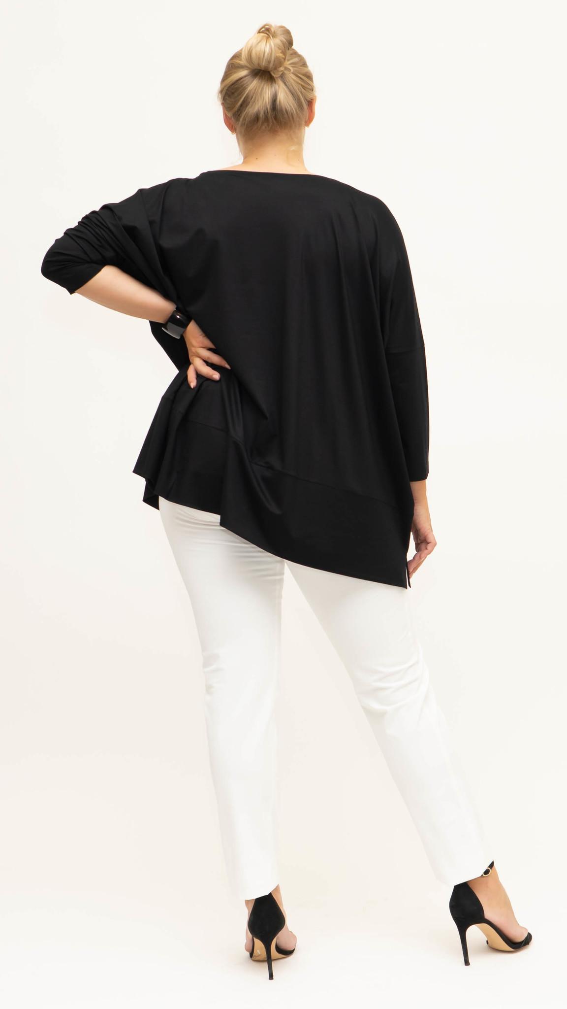 MAYA Shirt in Viscose-Jersey-2