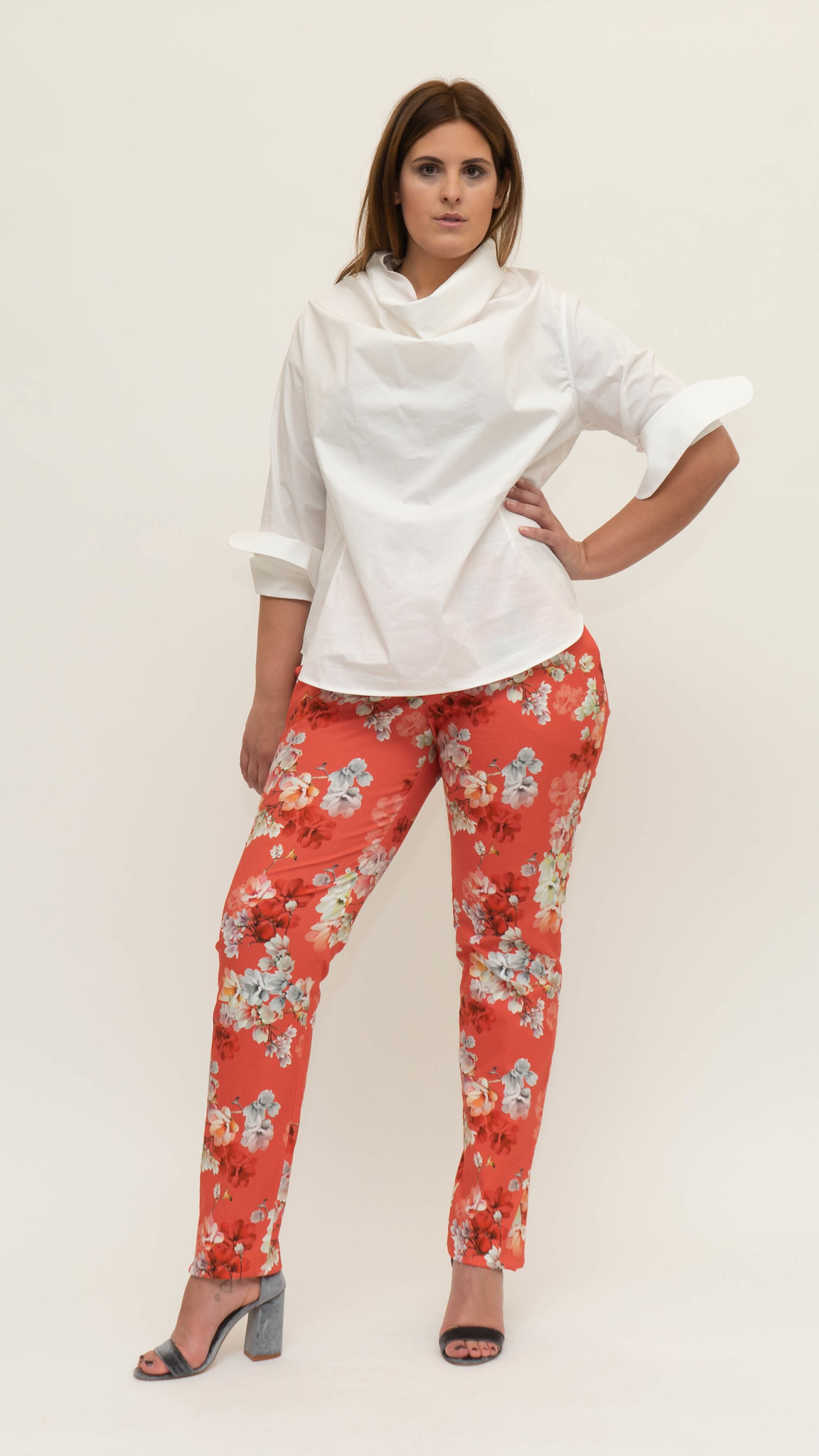 Mag Trouser in Cotton stretch-5
