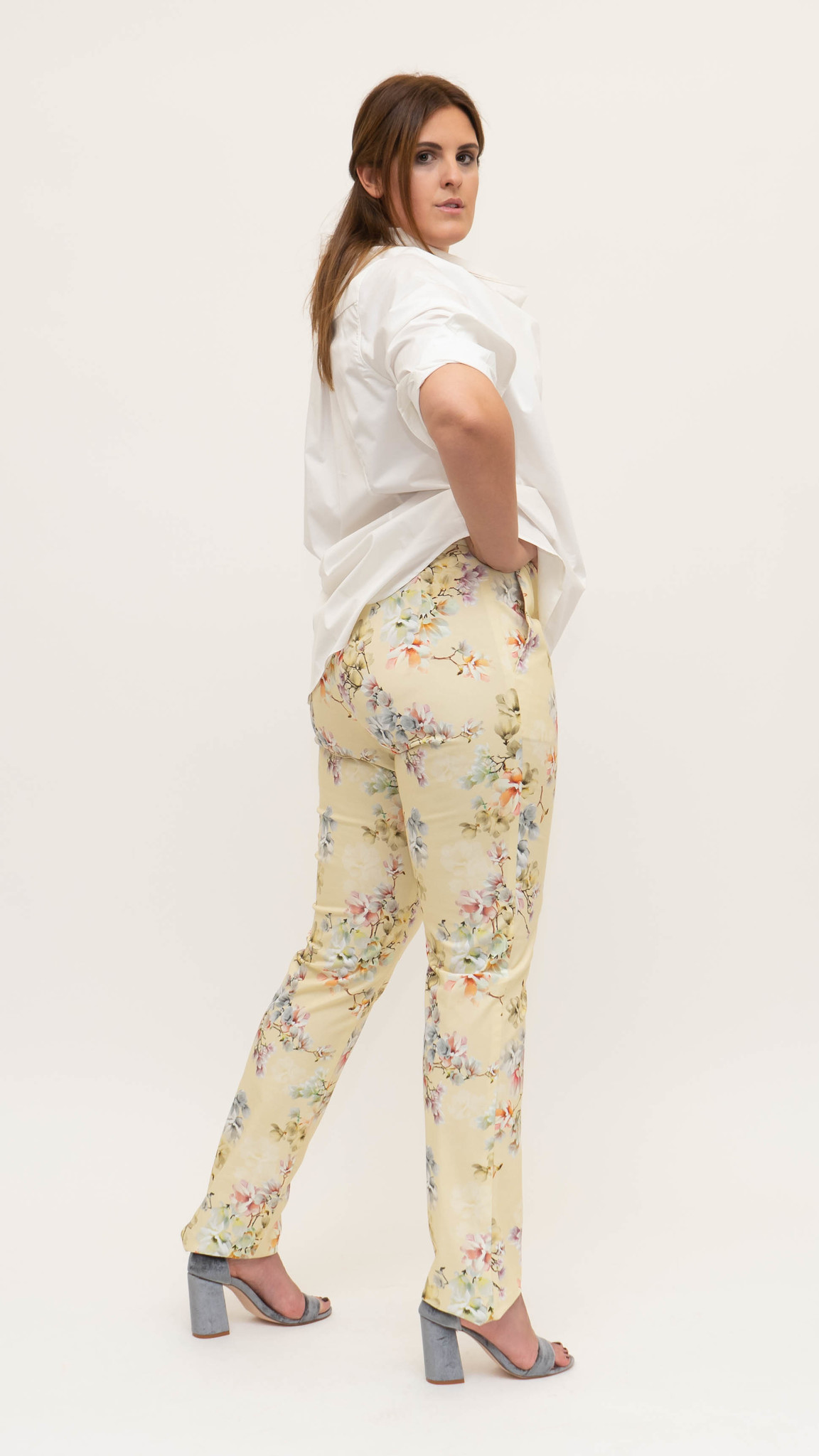 Mag Trouser in Cotton stretch-2