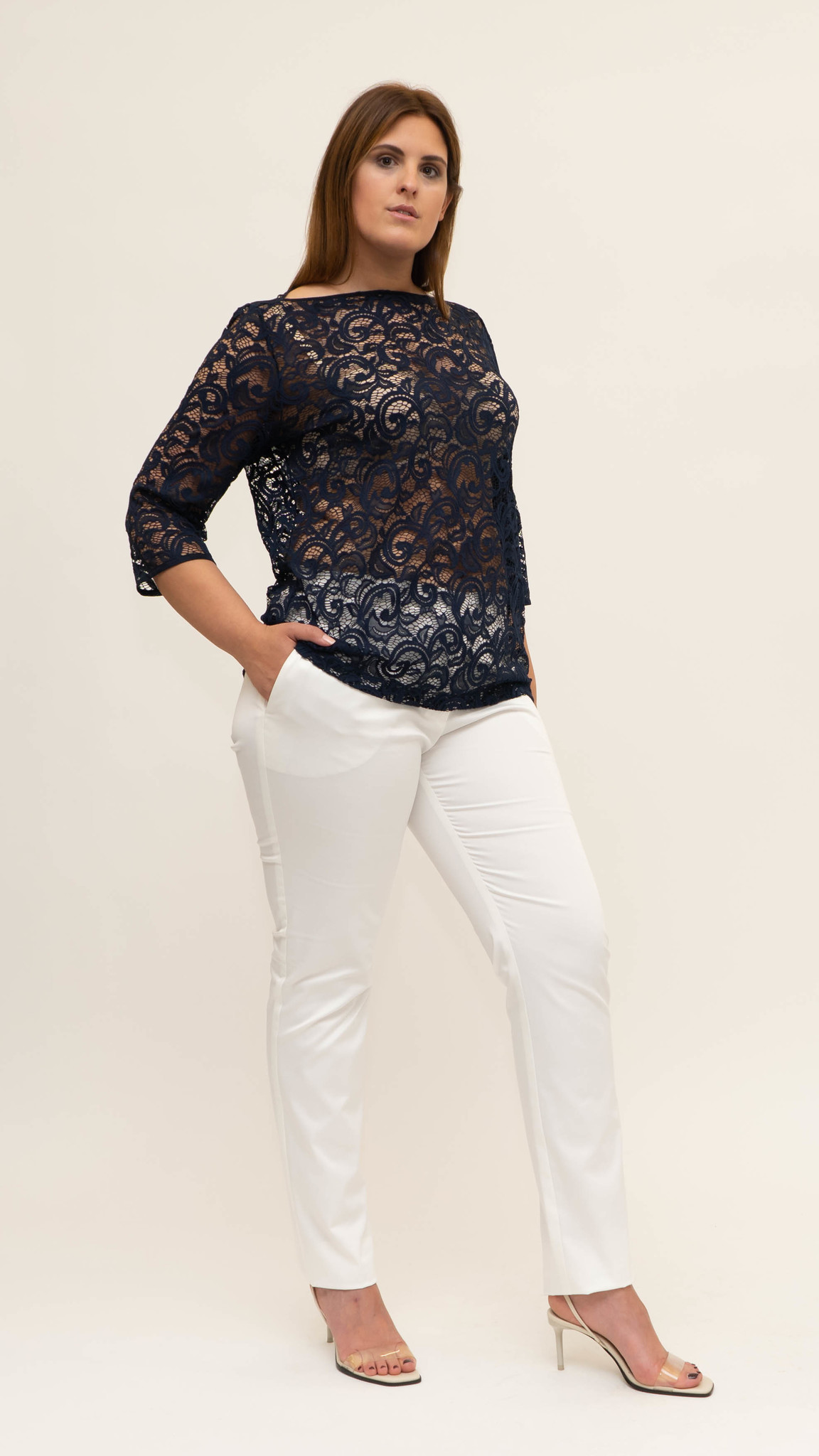 Mag Trouser in Cotton stretch-6