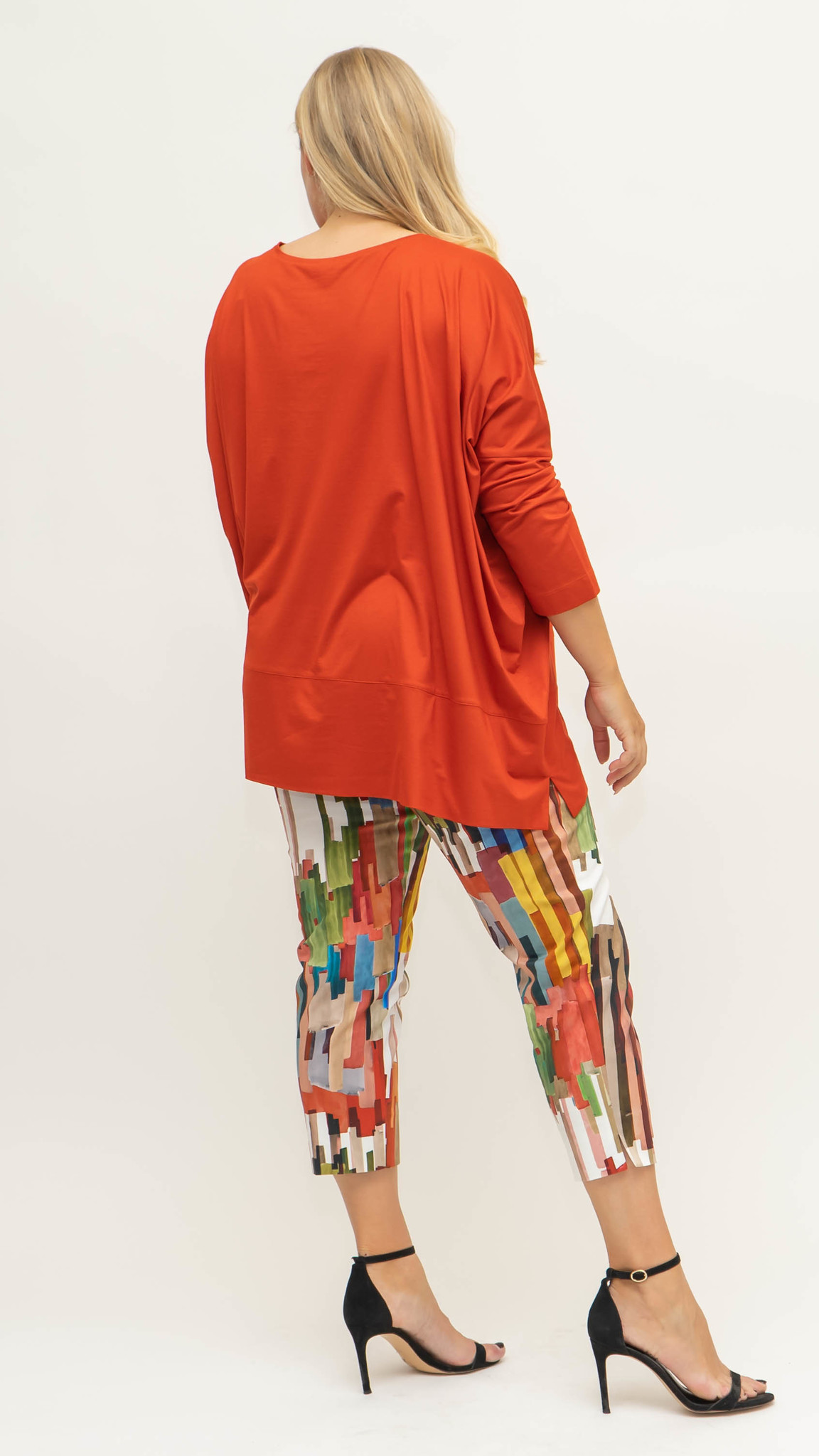 CAPRI Trouser in Cotton stretch-2