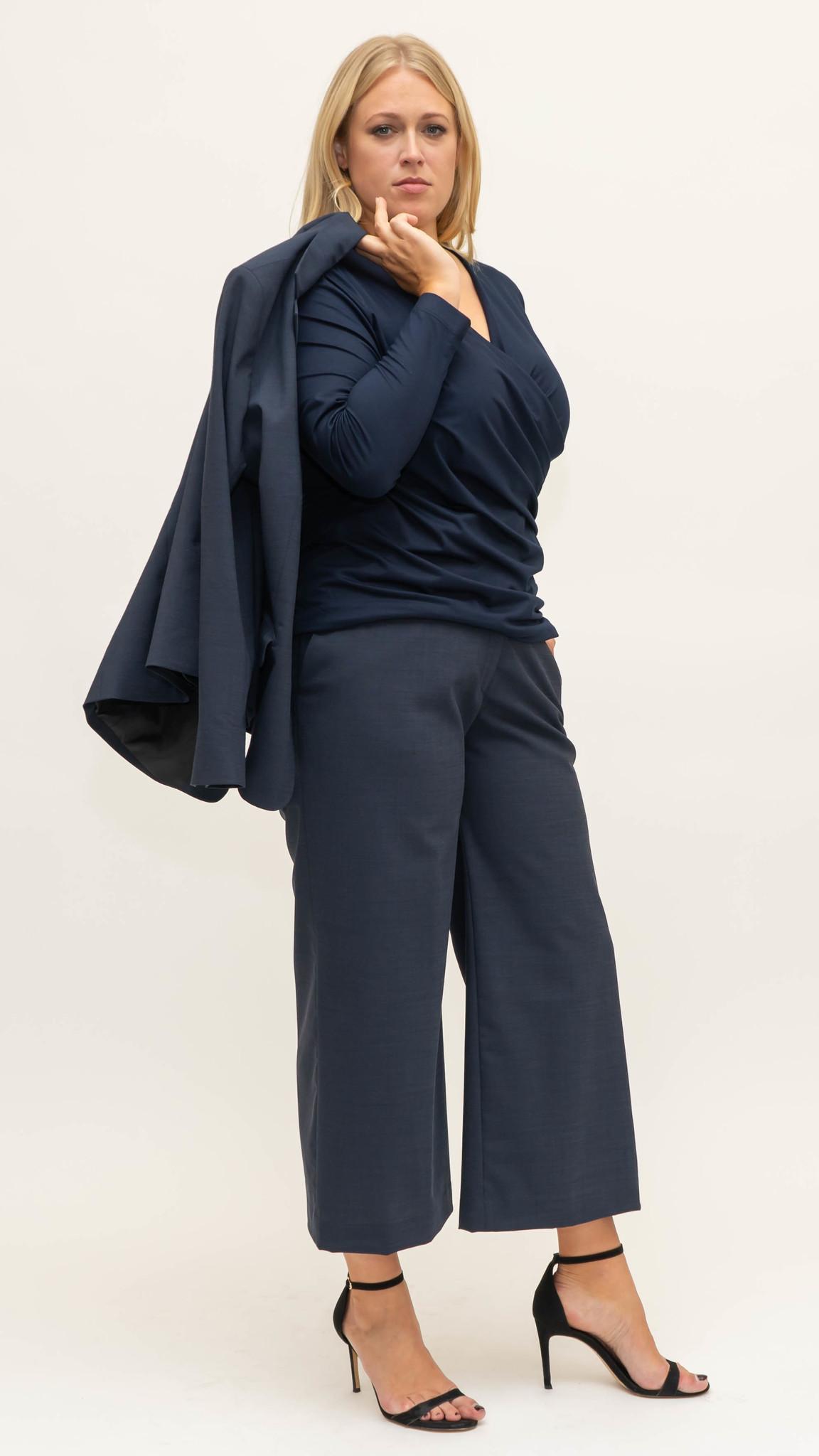 ZEN Trouser in Wool-1