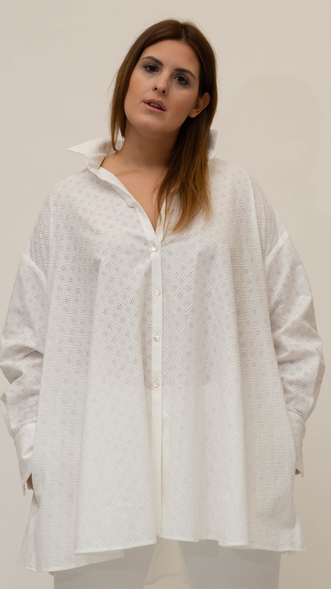 Andrea Blouse in Cotton-2
