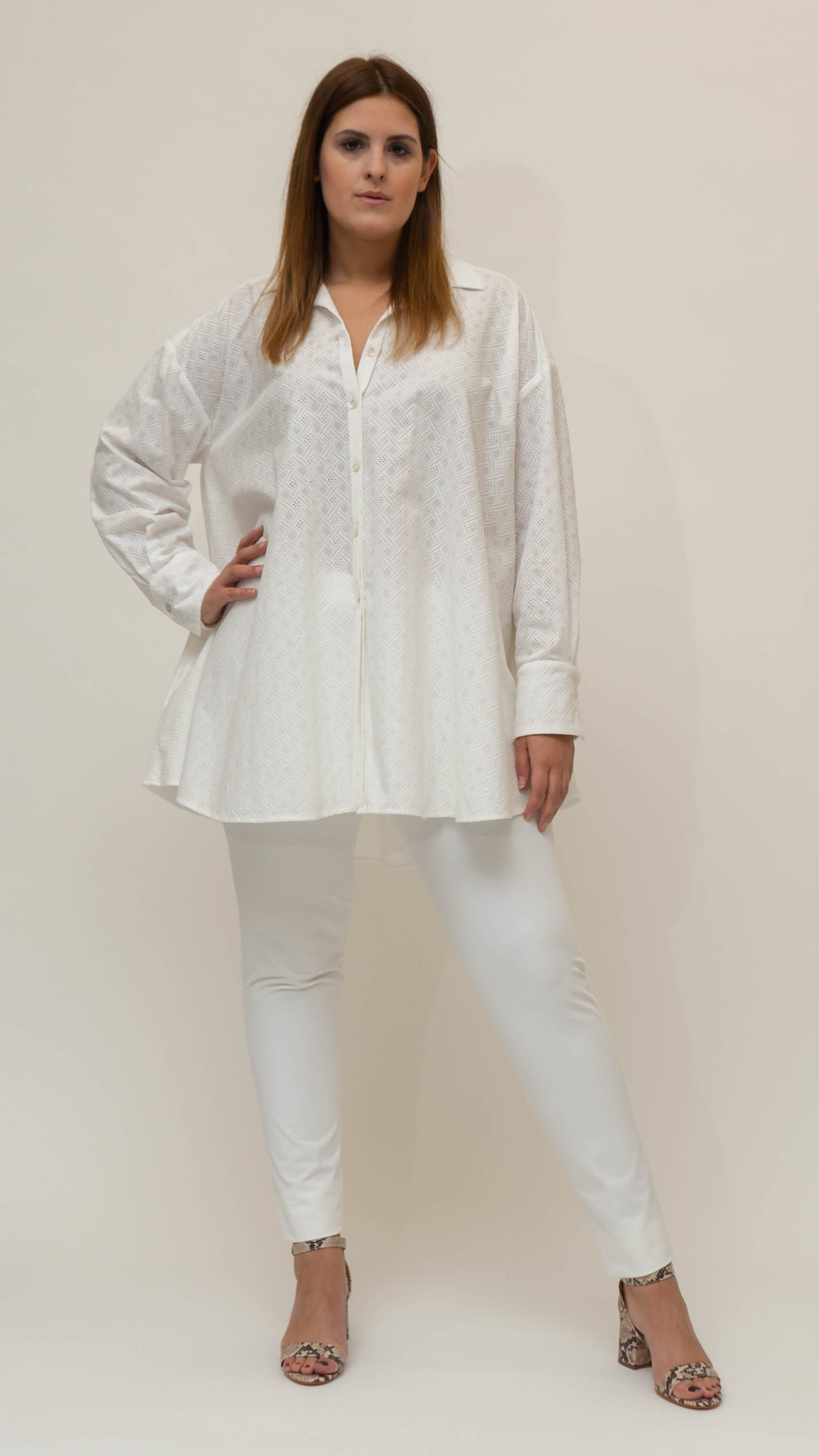 Andrea Blouse in Cotton-1