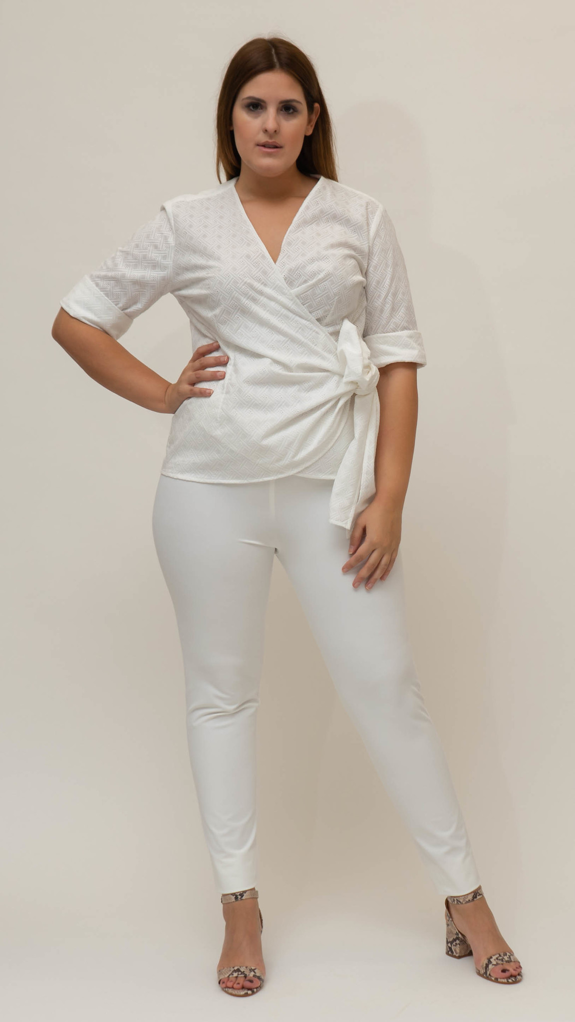 ANNA Blouse in Cotton-1