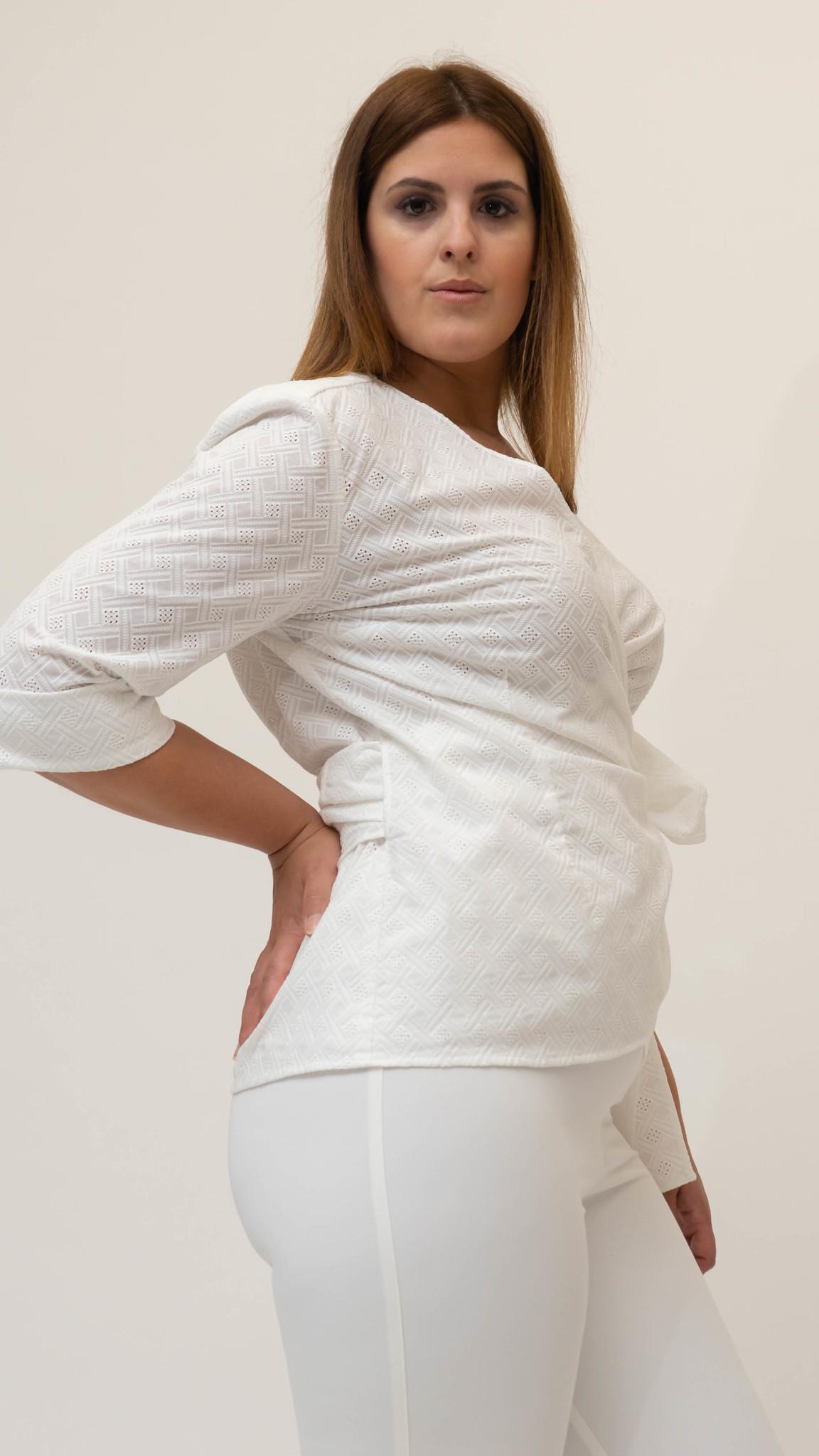 ANNA Bluse aus Baumwolle-2