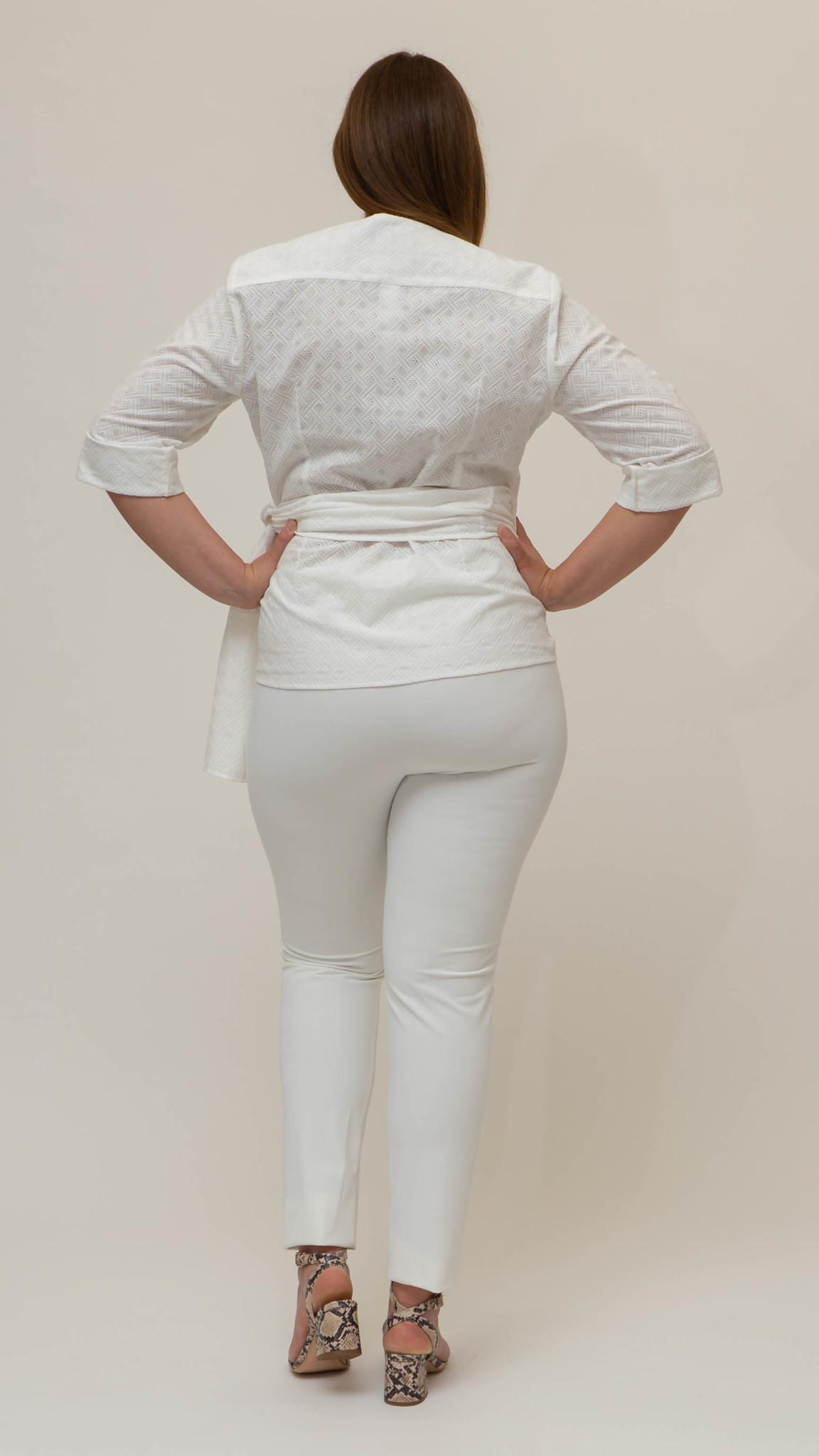 ANNA Bluse aus Baumwolle-3